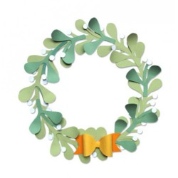 Fustella Sizzix Bigz PLUS - Christmas Wreath
