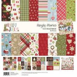 Kit carte Simple Stories - Holly Jolly