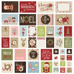 Simple Stories - Journaling Cards Collezione Holly Jolly