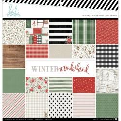 Heidi Swapp - Kit collezione Winter Wonderland - 30x30cm