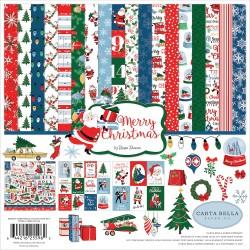 Carta Bella - Kit collezione Merry Christmas - 30x30cm