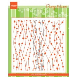Marianne Design Embossing Folder - Celestial stars