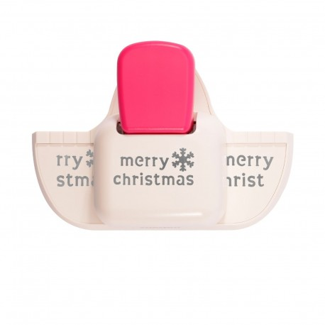 Vaessen Creative • Fustellatrice per bordo profondo Merry Christmas