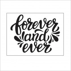 Darice - Embossing Folder - Forever