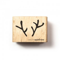 Cats on appletrees - Timbro Legno - Deer Head - 2555