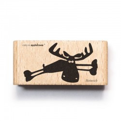 Cats on appletrees - Timbro Legno - Heinrich the Moose - 2548