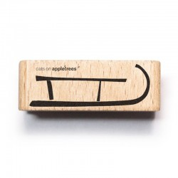 Cats on appletrees - Timbro Legno - Sled 2 - 2544