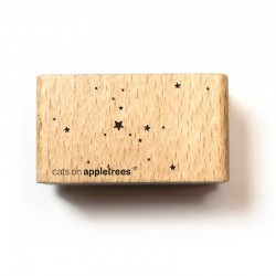 Cats on appletrees - Timbro Legno - Snow Flurry - 2559