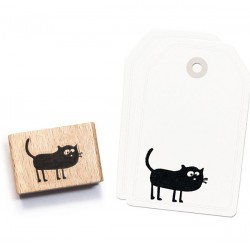Cats on appletrees - Timbro Legno - Dog George - 2421