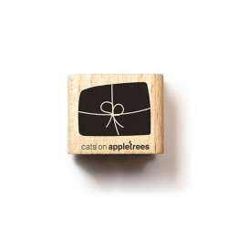 Cats on appletrees - Mini Timbro Legno - Present  narrow - 2323
