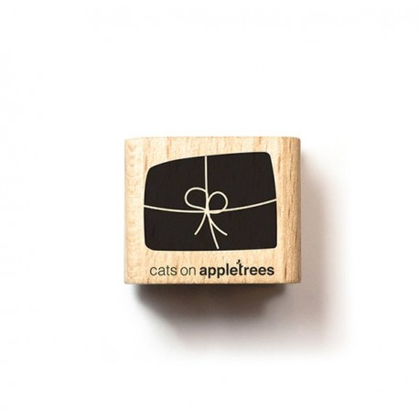 Cats on appletrees - Mini Timbro Legno - Present  narrow - 2323