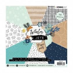 Studio Light - Paper Pad Winter Joy  - 15x15