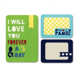 Fustella Sizzix Thinlits - Forever & a day