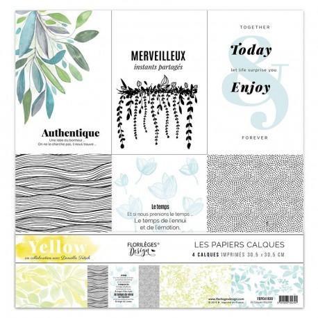 Florileges Design - Kit Vellum - Yellow