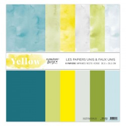 Florileges Design - Kit Carte - Yellow
