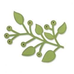 Fustella Sizzix Bigz - Branch w/Leaves