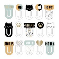 Artemio - Clips cartone - Collezione Terrazzo Cat