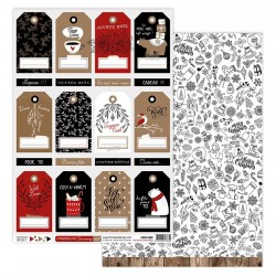Florileges Design - Carte - Christmas Cocooning 8