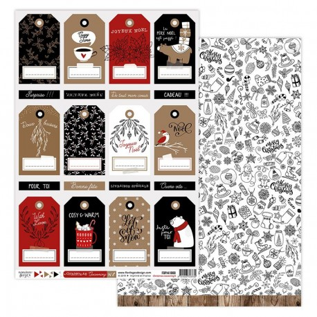 Florileges Design - Kit Carte - Christmas Cocooning 8