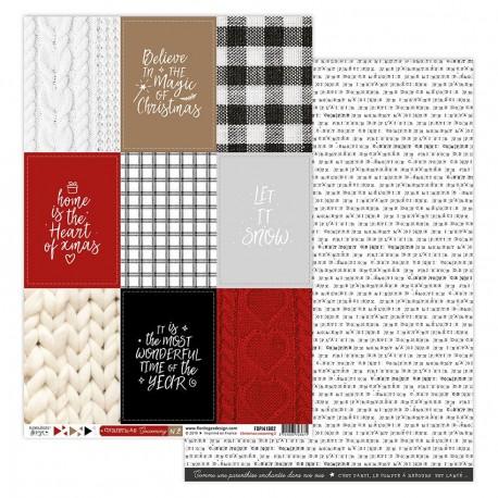Florileges Design - Kit Carte - Christmas Cocooning 2