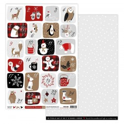 Florileges Design - Carte - Christmas Cocooning 4