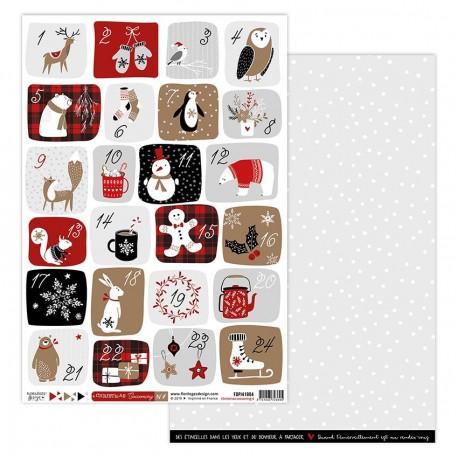 Florileges Design - Carte - Christmas Cocooning 4