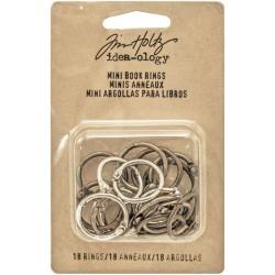 Tim Holtz - Mini anelli - Idea-ology Collection