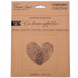 Vaessen Creative - Embossing Folder - Finger Print