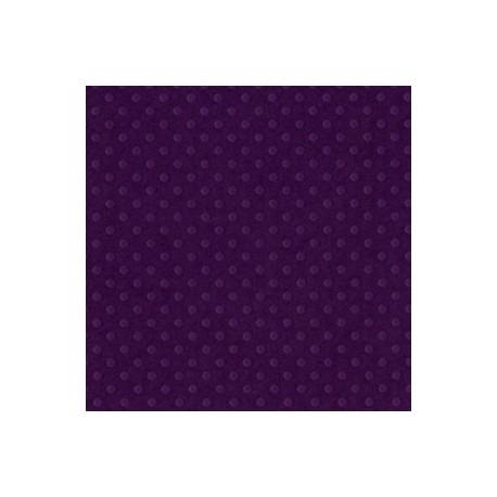 Cartoncino bazzill dots - Plum pudding