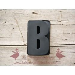 La bottega delle idee - Stampo - Lettera B