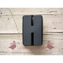 La bottega delle idee - Stampo - Lettera H