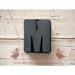 La bottega delle idee - Stampo - Lettera M