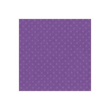 Cartoncino bazzill dots - Grape jelly