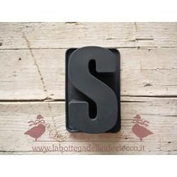 La bottega delle idee - Stampo - Lettera S