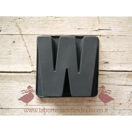 La bottega delle idee - Stampo - Lettera W