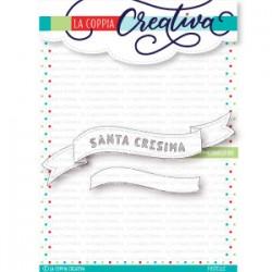 La Coppia Creativa - Fustella - Santa Cresima Banner