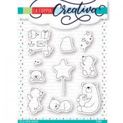La Coppia Creativa - Timbri Clear - Piccoli orsetti