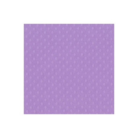 Cartoncino bazzill dots - Berry pretty