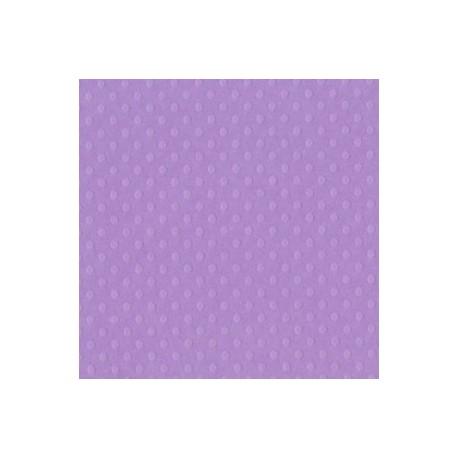 Cartoncino bazzill dots - Berry pretty