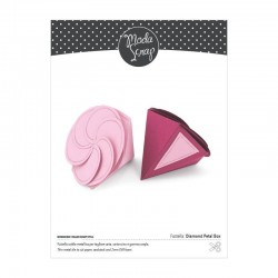 ModaScrap- Fustella - Diamond Petal Box