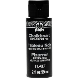 Plaid - Colori - Chalkboard Multi-Surface Paint - Black