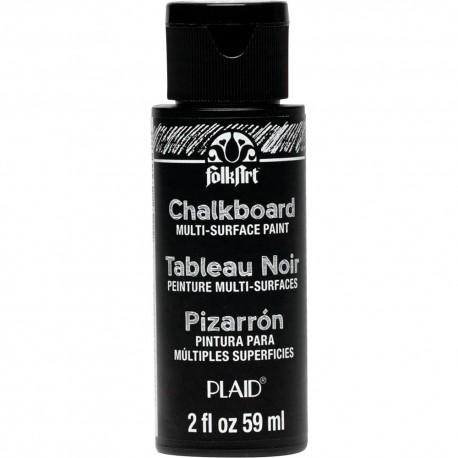 Plaid - Colori - Chalkboard Multi-Surface Paint - Black
