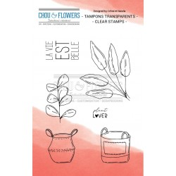 Chou & Flowers - Timbri Clear - Plant Lover