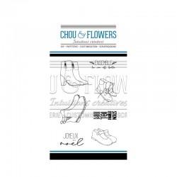 Chou & Flowers - Timbri Clear - Au Pied du Sapin