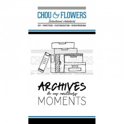 Chou & Flowers - Timbri Clear - Archives