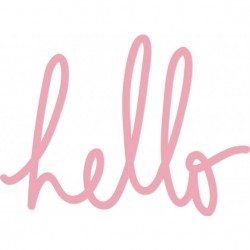 Kaisercraft - Fustella - Hello Words