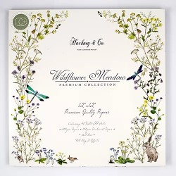 "Craft Consortium - Kit Wildflower Meadow - 12""x12"""