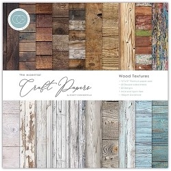 "Craft Consortium - Kit Wood Textures - 12""x12"""