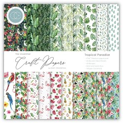 "Craft Consortium - Kit Tropical Paradise - 6""x6"""