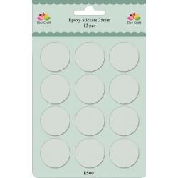 Dixi Craft - Abbellimenti - Epoxy Stickers 25 mm